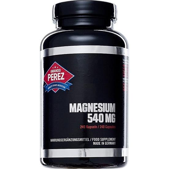 Hochaktives Magnesium 540 mg gewonnen aus 909 mg Magnesiumoxid -.