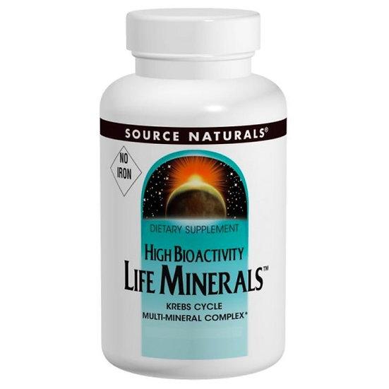 Life Minerals - ohne Eisen - 60 vegane Tabletten - Hohe Bioverfü.