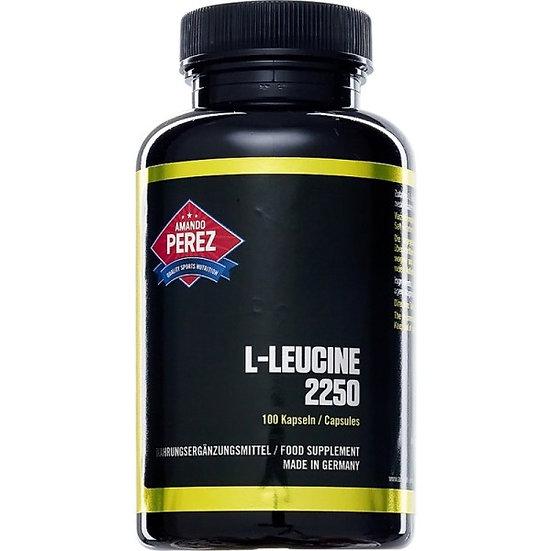 L-Leucin - 2250 mg pro Dosis - 100 Kapseln