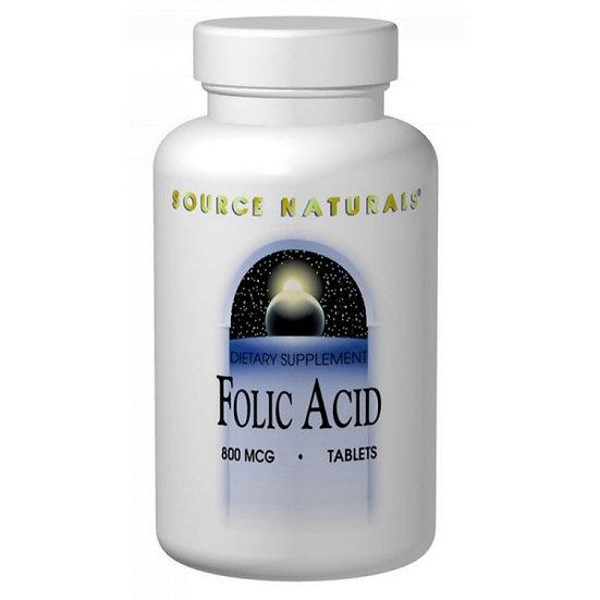 Folsäure - 800 mcg - 200 Tabletten