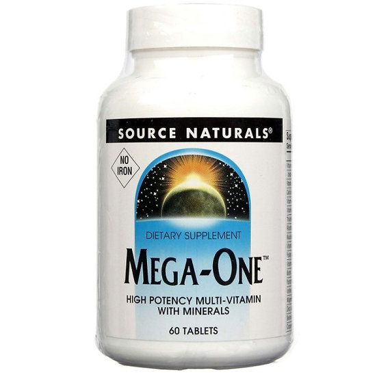 Mega-One Multivitamin-Mineral - 60 Tabletten