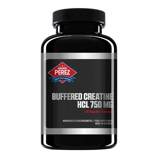 Buffered Creatine HCL - 750 mg - gepuffertes Kreatin HCL 120 vegane Tabletten