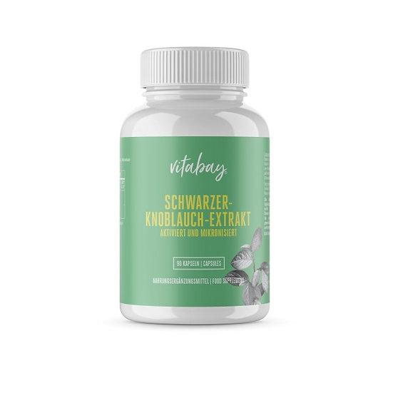 Schwarzer-Knoblauch-Extrakt 100 mg | fermentiert, aktiviert und .