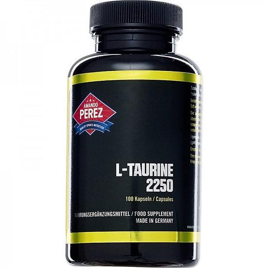 L-Taurin - 2250 mg pro Dosis - 100 Kapseln
