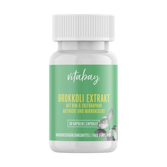 Brokkoli Extrakt mit DIM und Sulforaphan - 60 Vegane Kapseln