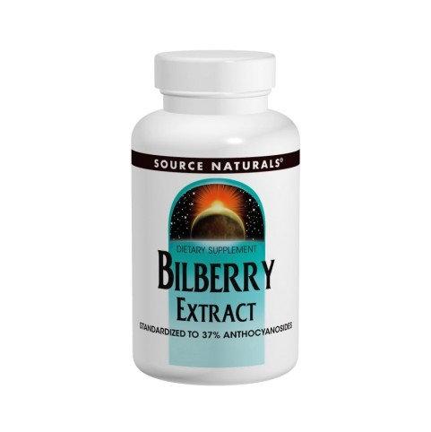 Bilberry Extrakt 100 mg liefert 74 mg Anthocyanoside - 30 Tablet.