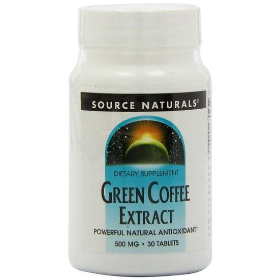 Grüner Kaffee Extrakt - 500 mg - 30 Tabletten