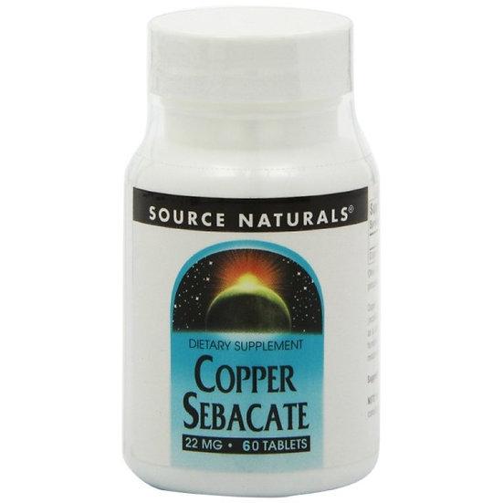 Kupfer Sebacat - 22 mg - 60 Tabletten