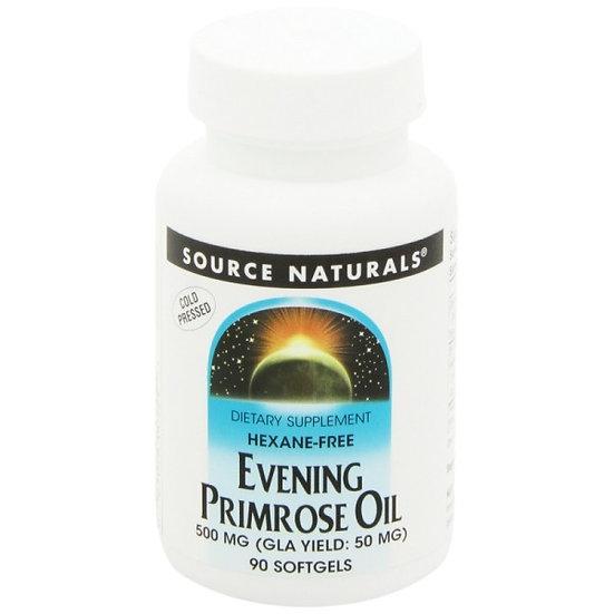 Linolsäure aus Nachtkerzenöl Softgels - 500 mg - 50 mg Gamma-Lin.
