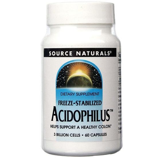 Acidophilus - 3 Milliarden L. Acidophilus Bakterien - 60 Kapseln