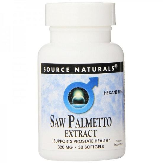 Saw Palmetto Extrakt 320 mg - Extra starke Dosis! - 30 Softgels