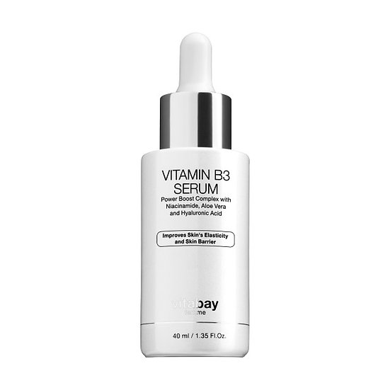 Niacinamid 5% Vitamin B3 Gesichtsserum 40 ml - Anti-Aging Feucht.