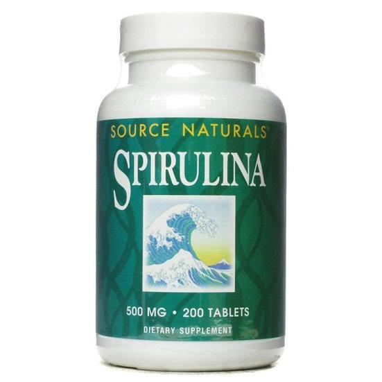 Spirulina - 500 mg - 200 Tabletten - Das Produkt der Götter