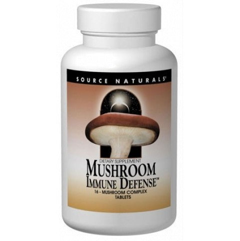 Mushroom Immune Defense - 30 Tab - 16 Vitalpilze Komplex