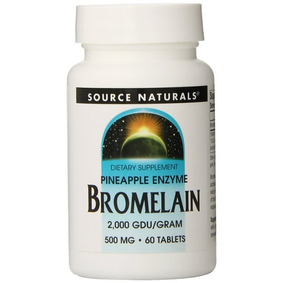 Bromelain - 2.000 GDU/g - 500 mg - 60 Tabletten