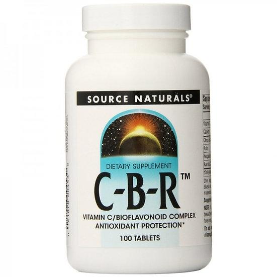 C-B-R™ Vitamin C & Bioflavonoid Komplex - 500 mg - 100 Tab