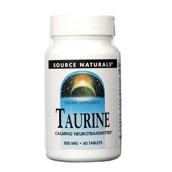 Taurin - 500 mg - 60 Tabletten