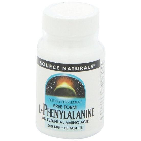 L-Phenylalanin - 500 mg - 50 Tabletten