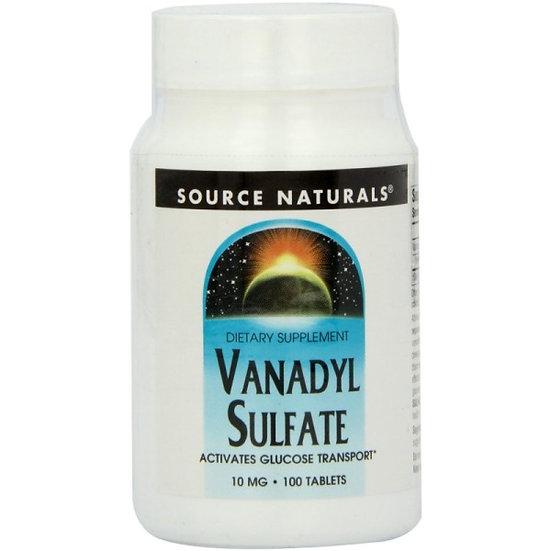 Vanadyl-Sulfate 10.000 mcg - 100 Tabletten