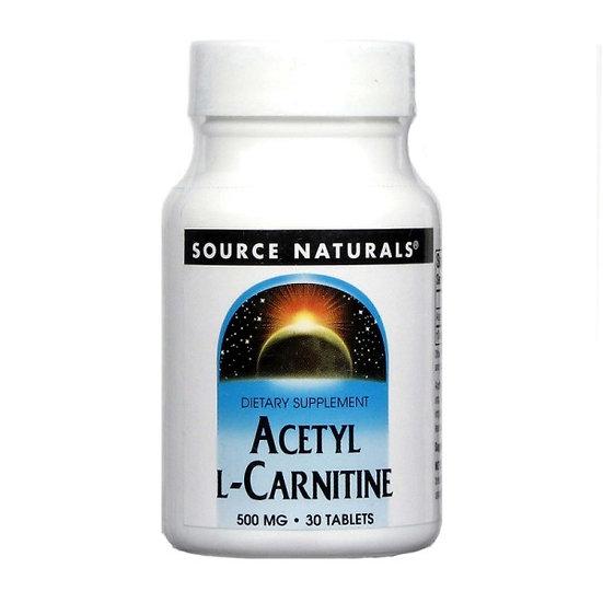 Acetyl-L-Carnitin 500 mg - 30 Tabletten