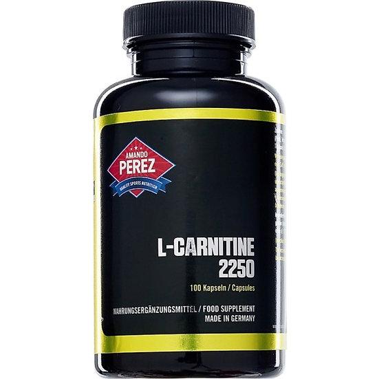L-Carnitin - 2250 mg pro Dosis - 100 vegane Kapseln