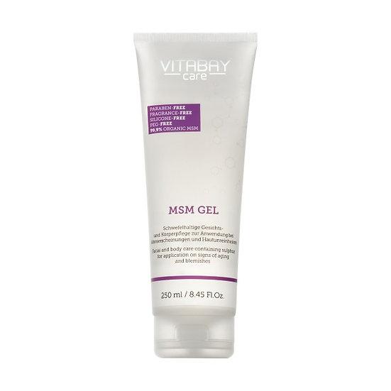 MSM Gel - Schwefelhaltige Gesichts- und Körperpflege mit 99,9% o. 100 Milliliter