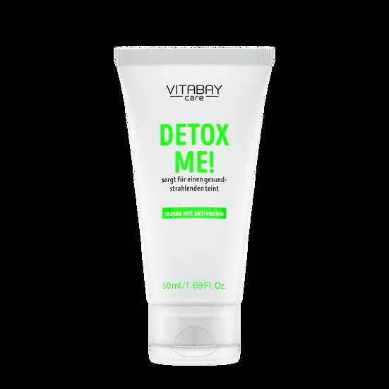 Detox Me! 50 ml - Gesichtsmaske mit Aktivkohle – reinigt, klärt .