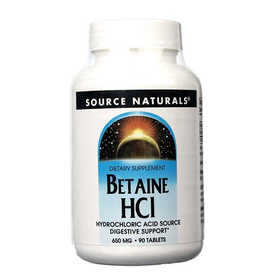 Betain HCl - 650 mg - 90 Tabletten