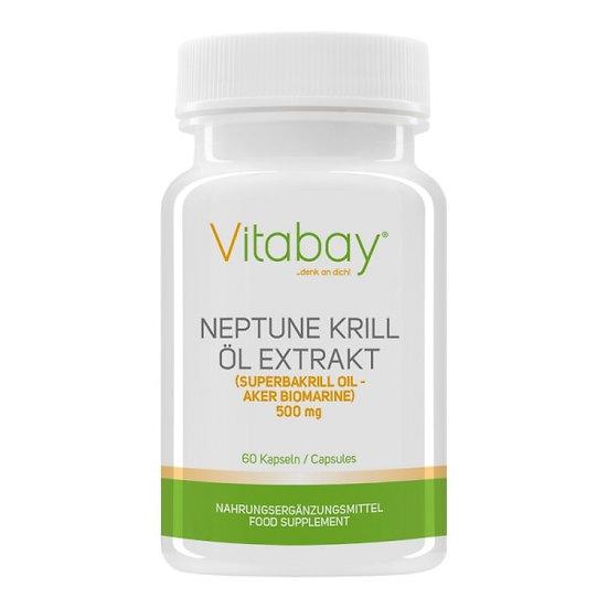 Neptune Krill Öl 500 mg - 60 Softgels
