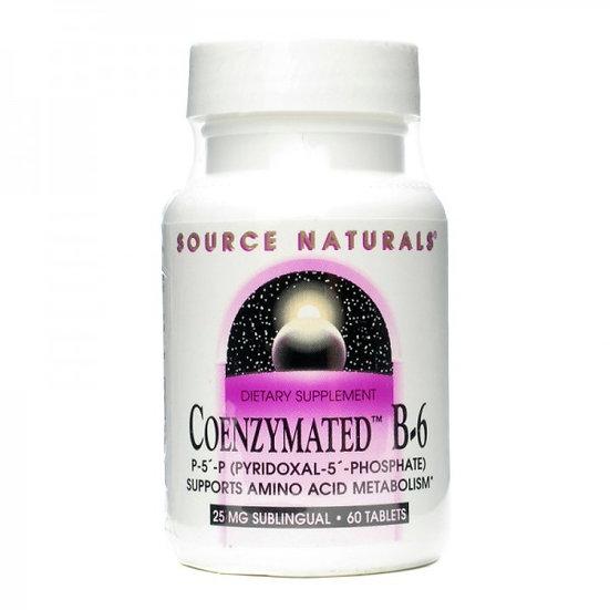 Coenzym Vitamin B6 - P-5-P (Pyridoxal-5-Phosphat) - 25 mg - 60 T.