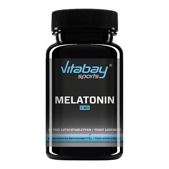 Melatonin - 3 mg - 120 Lutschtabletten - Das Schlaf-Hormon!
