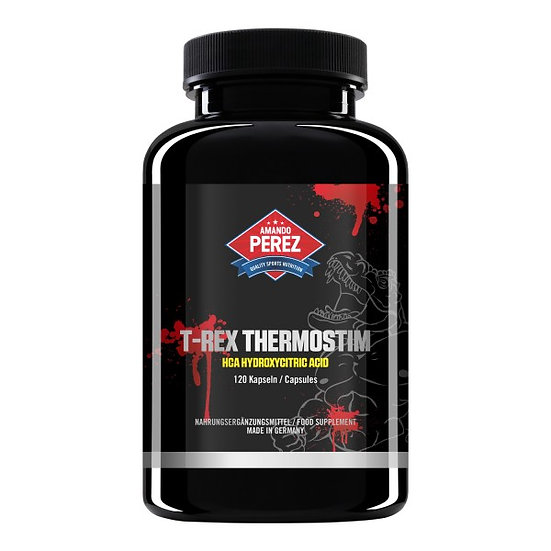 T-REX ThermoStim - Fatburner & Appetitzügler - 120 Kapseln