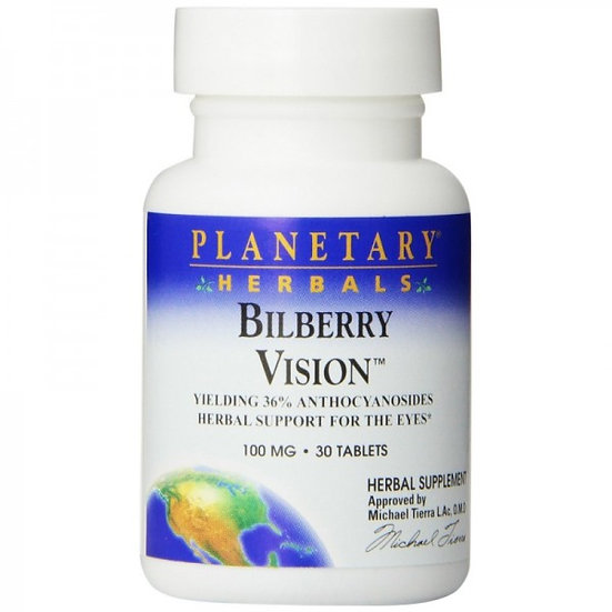 Bilberry Vision™ 100 mg - 36 mg Anthocyanosides