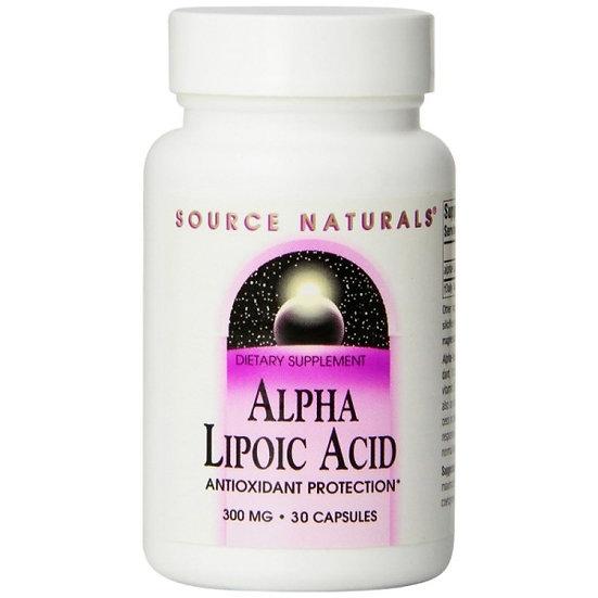 Alpha-Liponsäure - Thioctsäure - 300 mg (Antioxidant) -30 Kapseln