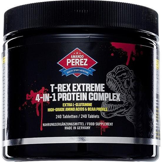 T-REX Extreme - 4-in1- Protein - Aminosäure Komplex - 240 Tablet.