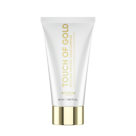 Touch of Gold 50ml - Anti-Aging Creme mit kolloidalem Gold und S.