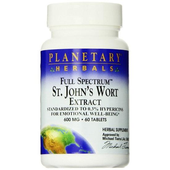 St. John´s Wort Extrakt - Johanniskraut 0.3% Hypericin - 600 mg