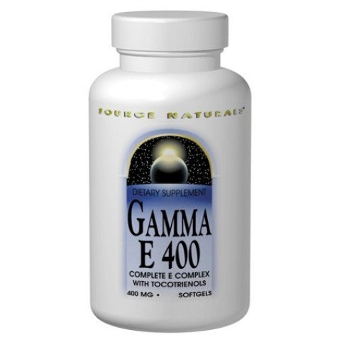 Gamma E 400 Komplex - 60 Softgels - mit Tocotrienol