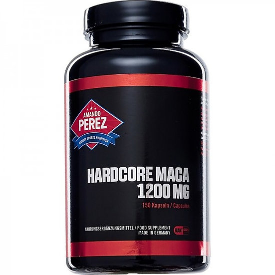Hardcore Maca - 1.200 mg - 150 Giant Caps