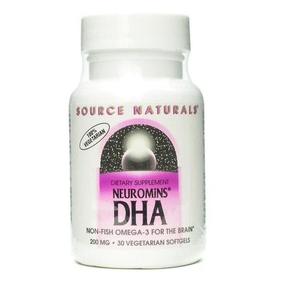 DHA Neuromins 200 mg aus Algenöl - 30 vegane Softgels
