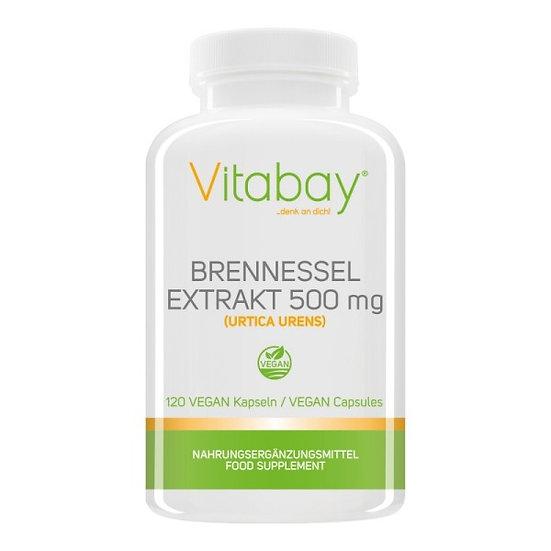 Brennnessel Bio - 500 mg - 120 Vegan Kapseln
