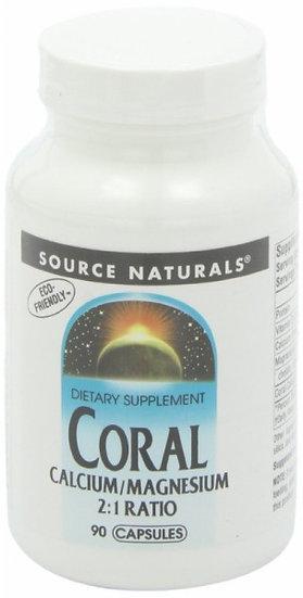 Korallen Calcium/Magnesium 90 Kapseln