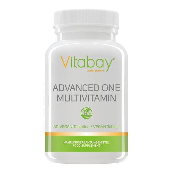 Advanced One Multivitamin - 30 vegane Tabletten - Vitamine Miner.