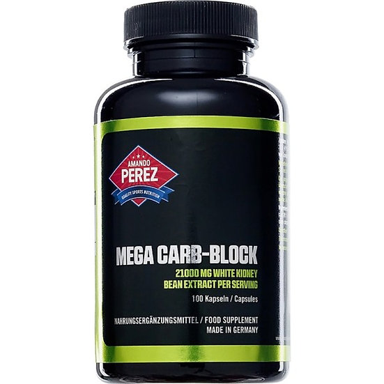 Mega Carb Blocker - 21000 mg - White Kidney Bean und Fenugreek -.