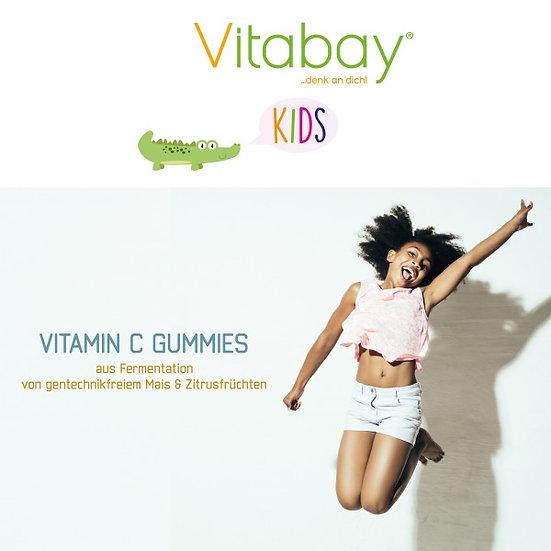 Vitamin C 160 mg - Gummibärchen für Kinder - Orange Geschmack - . 120 Gummies