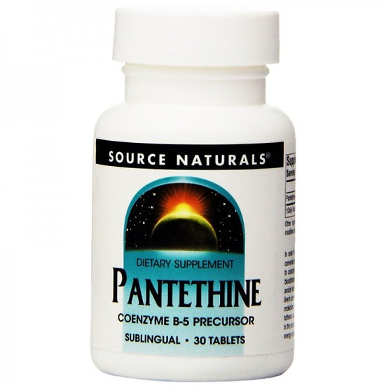 Vitamin B5 - Pantethin - Coenzym - 25 mg