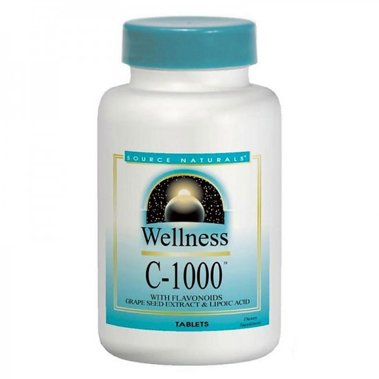 Wellness C-1000 - Vitamin C - 1000 mg - Bioflavonoid & Co. - 50 .