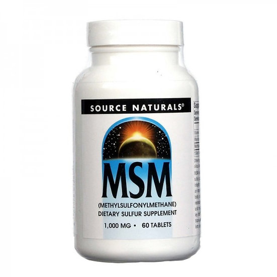 MSM - Methylsulfonylmethan - 1000 mg - 60 Tabletten