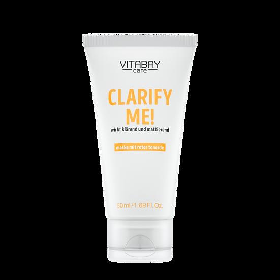 Clarify Me! 50 ml – Gesichtsmaske für glatte, strahlende Haut