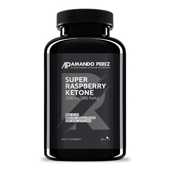 Super Raspberry Ketone 2500 mg - 60 Kapseln - 98% reiner Aktivst.